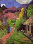 road in tahiti Paul Gaugain